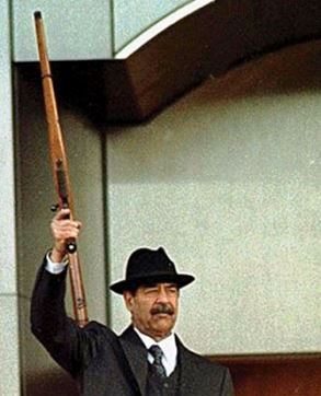 Saddam Hussein Ruger M77