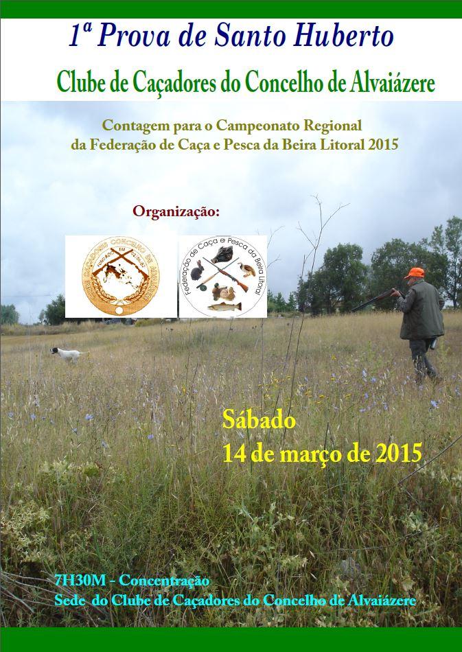 CCCAVZ - 1Prova de Santo Huberto 2015
