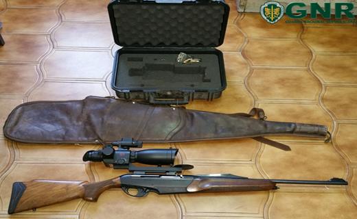 Mangualde – Detenção por caça ilegal