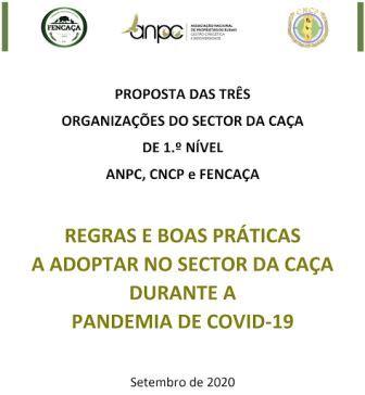 COVID-19 MEDIDAS PARA A CAÇA